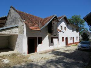 5 Westansicht Haus und Stall Anwesen Stephansposching (Andere)